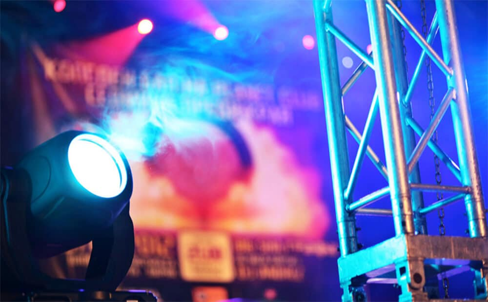 Lighting for Large Scale Events
